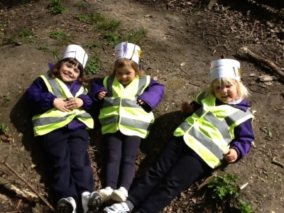 Kindergarten at Forest School: 21 April