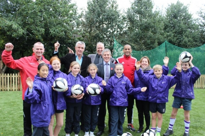 Football Stars open new sports pitch