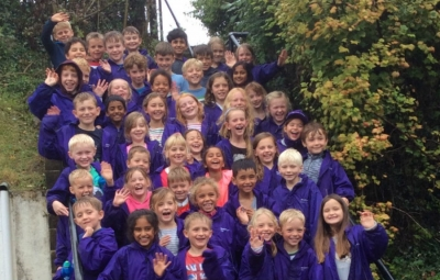 Years 3 and 4 on their first residential