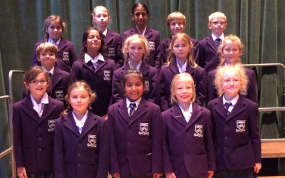 KS2 Choir day at Epsom College