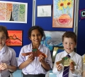 Pupils celebrate a week of Art