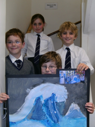 Making waves in Year 5