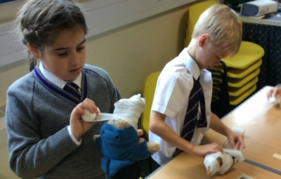 A mummifying experience for year 3