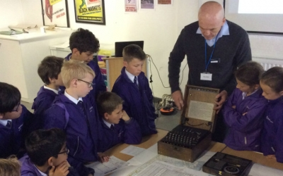 Cracking the code at Bletchley Park