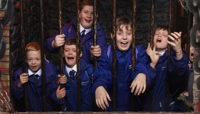Year 5 in the Clink