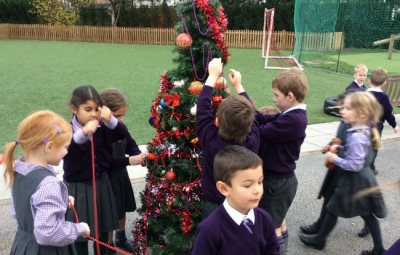Countdown to Christmas in Year 1