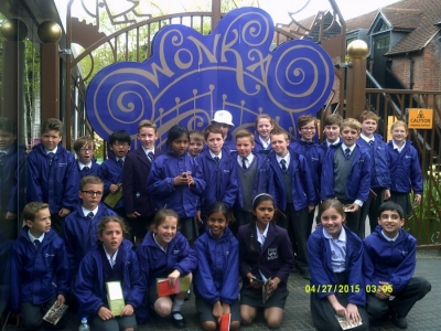 Year 5's golden ticket to a day out