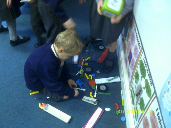 Exploring and Sorting Materials with Year 1