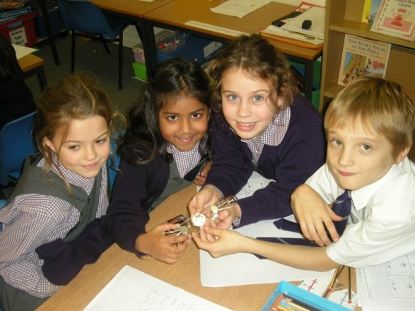 Bright sparks in year 2