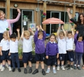 Kindergarten celebrate Top 20 Group Award Win