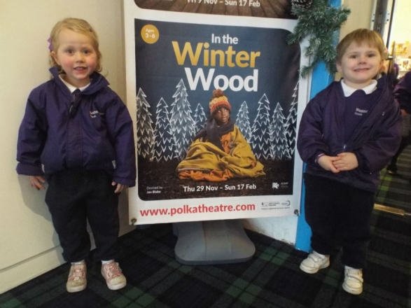 Early Years have an adventure 'In the Winter Wood'