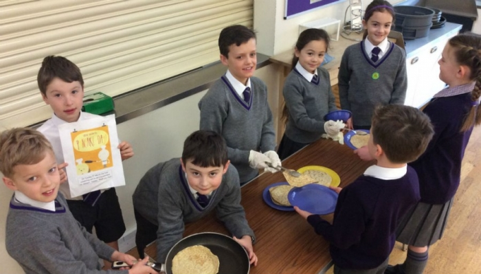 Food Committee serve up pancakes