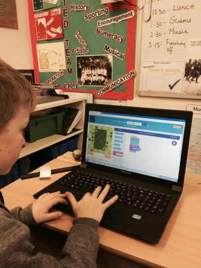 Year 4 enjoy programming