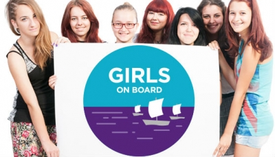 All aboard for Girls on Board
