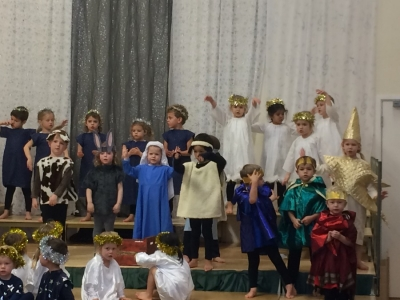 Early Years delight us with their Nativity