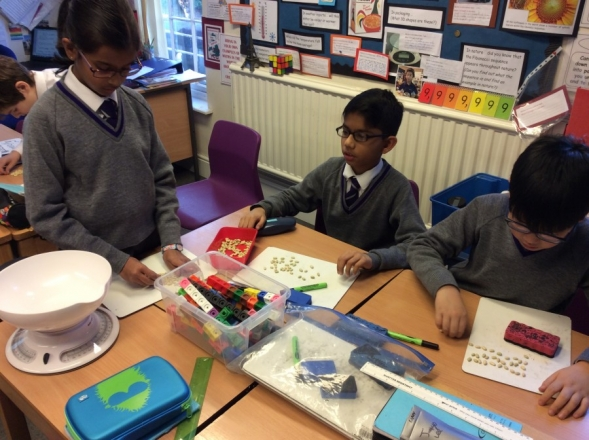 A small year 6 explore big numbers
