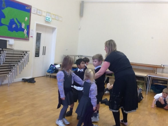 Reception Learn Country Dance