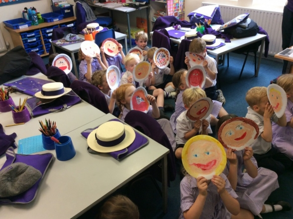 Exploring our feelings in Year 1