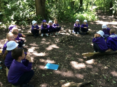 Year 2 love Forest School