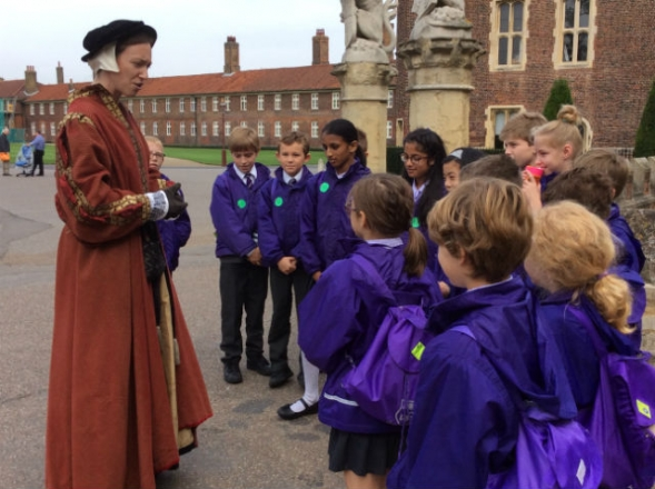 Year 5 are Tudor explorers for a day