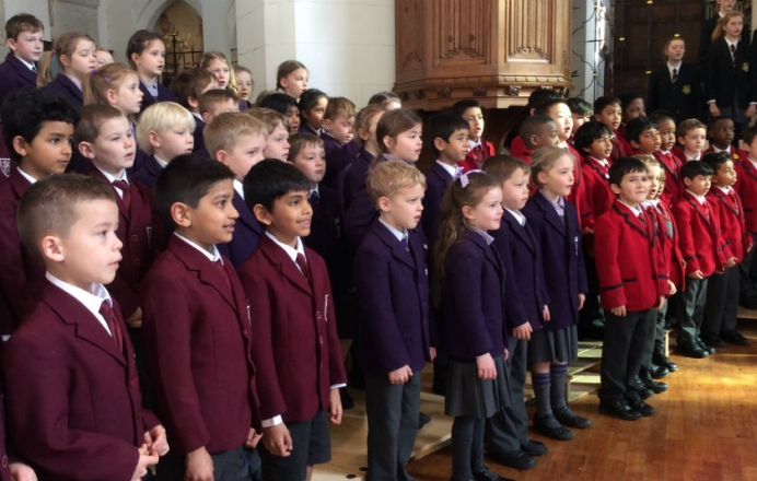 Year 2 sing their hearts out