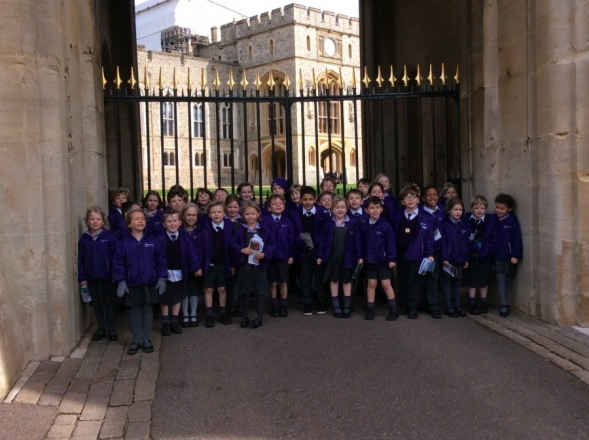 Year 1 Visit Windsor Castle