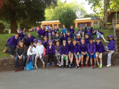 Day two - sunshine, abseiling, climbing and a nature trail…
