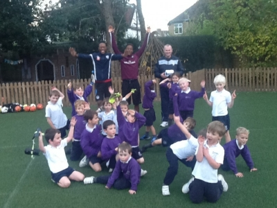 Year 1 and 2 Football Club