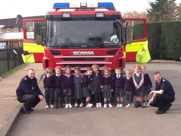 EYFS Fire Engine Visit