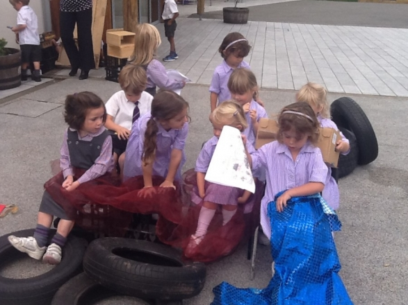 Reception in Top Gear in Mr Gumpy's Car