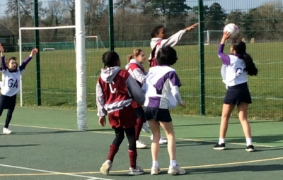Netball Team show determination at ISA Competition