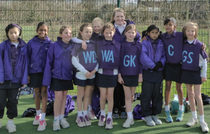 The First ISA Girls Netball Tournament for Weston Green