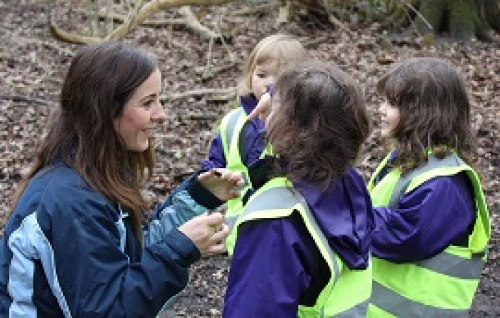 Watch a video of Kindergarten at Forest School