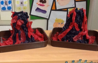 Volcanic Eruption in Kindergarten!