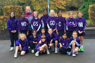 Y5 & 6 netball girls have their best season ever!