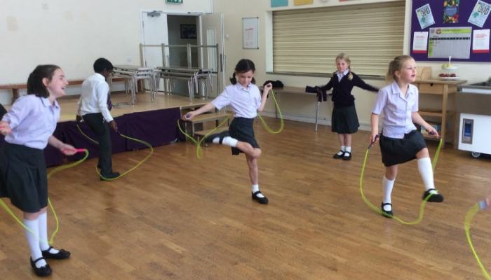 Key Stage 1 and 2 Skipping Workshops