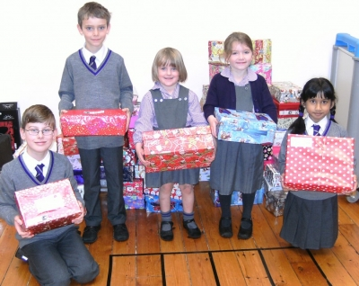 Pupils spread joy through Operation Christmas Child