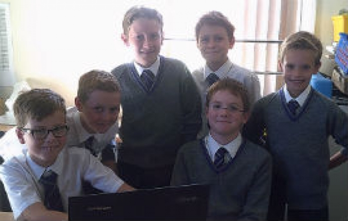 Year 6 get blogging!
