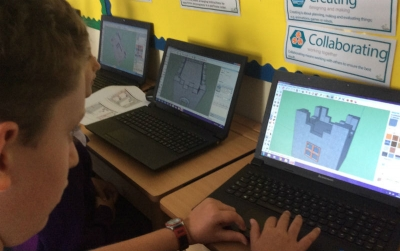 Year 6 create 3D models and sculptures using software