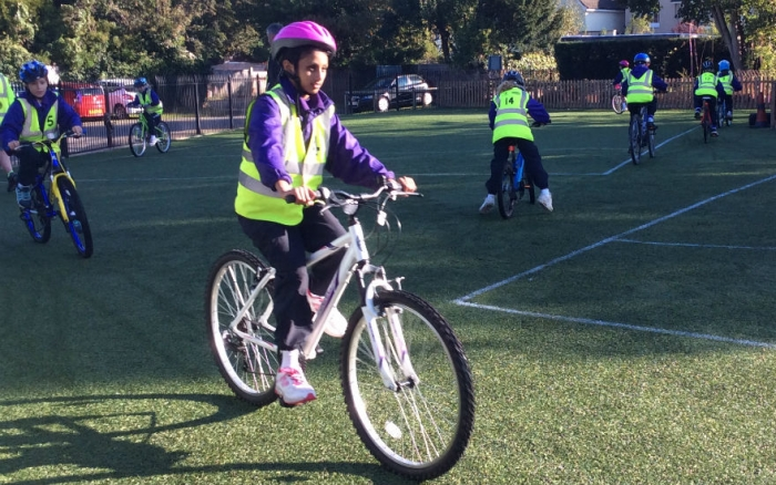 Bikeability and pedals training