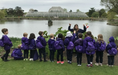 Year 1 are inspired by their trip to Kew
