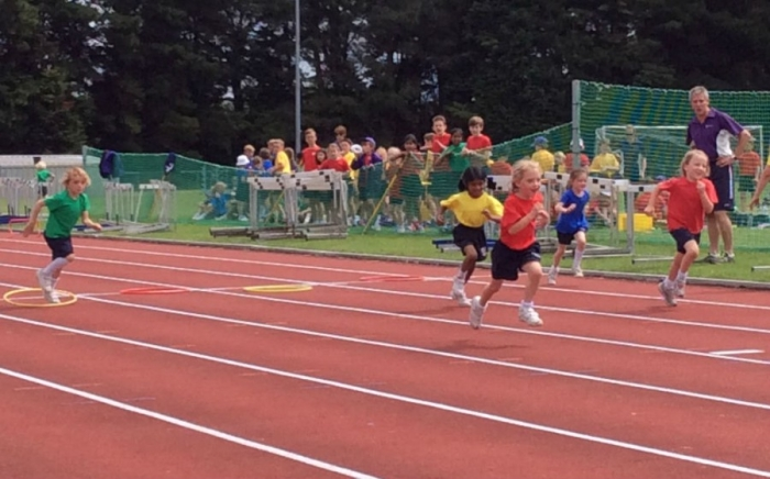 Sports day for KS1 and KS2