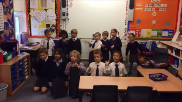 Year 1 performance poetry