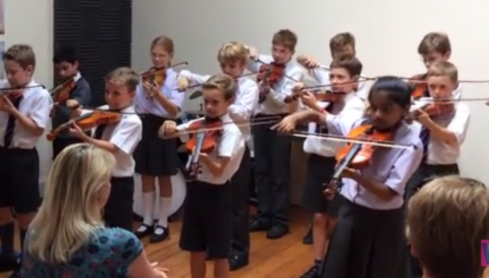 Year 5 strings concert