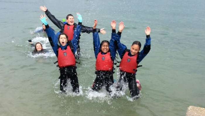 Years 5 & 6 are all at sea at UKSA