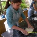 Making bread while the sun shines!