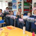 KS2 Art Club Make Silhouette Cityscapes!
