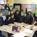 Joanna Moore visits WGS pupils for a Printing Workshop