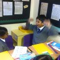 Year 5 read out their myths