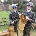 Y6 find out what it was like to be a Home Guard and ARP warden at Henley Fort